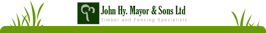 JH Mayor: Timber and Fencing Specialists